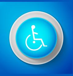 Disabled handicap icon wheelchair handicap sign vector