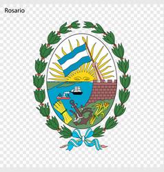 Emblem city of argentina vector