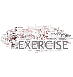 Five ways to fit fitness into your life text vector