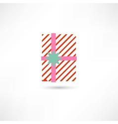 Nice gift vector image
