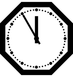 office clock vector image