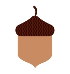 pumpkin seed isolated icon vector image