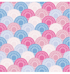 seamless background from multi-colored circles vector image vector image