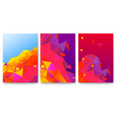 Set covers with abstract geometric surfaces vector
