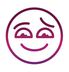 Sorry funny smiley emoticon face expression vector