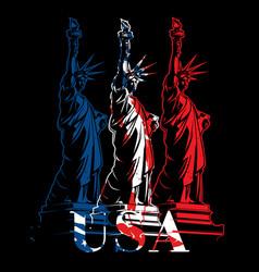 Statue of liberty vector