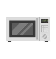 Microwave oven technology appliance equipment vector image