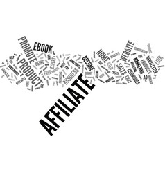 five ways to increase your affiliate sales text vector image