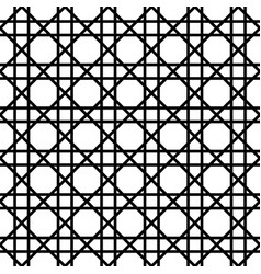 abstract geometric pattern with lattice tiles vector image