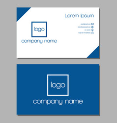Best business card vector