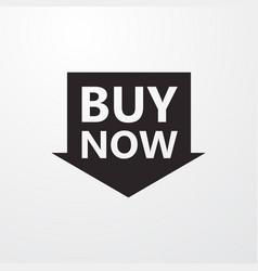 Buy now sign icon - symbol flat icon flat design vector