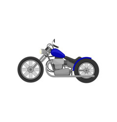 Motorbike harley davidson on vector