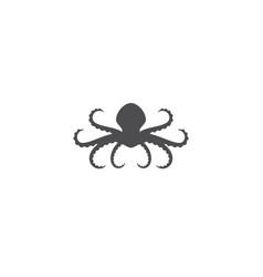 octopus logo ilustration vector image