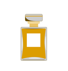 Perfume icon retro perfume vector