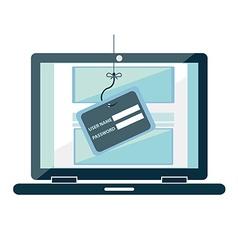 phishing vector image