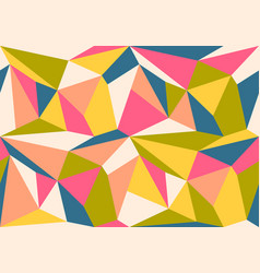 Vintage geometric pattern vector