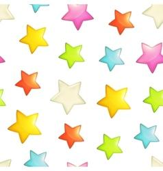 Stars seamless background vector