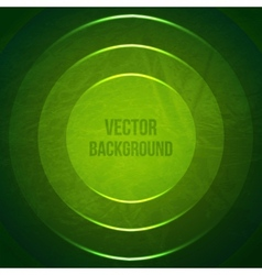 Geometric background grunge background with green vector