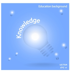 creative lamp bulb symbols vector image vector image