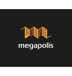 House logo design template Real estate vector image vector image