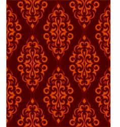ornamental wallpaper vector image