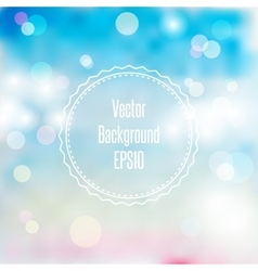 Blurred spring or summer abstract background in vector image