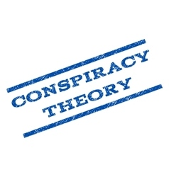 Conspiracy Theory Watermark Stamp vector