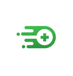 hospital search modern symbol concept vector image