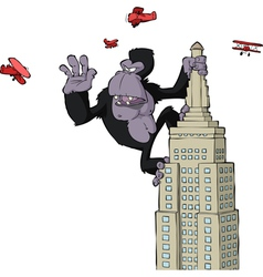 king kong vector image