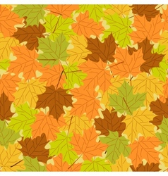Maple leaf seamless pattern seamless background vector