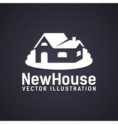 New house icon vector