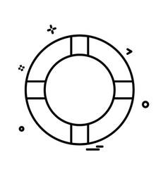 swimming pool icon design vector image