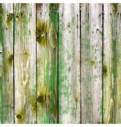 Rural Wooden Planks vector image
