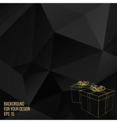 gift box Abstract Creative vector image