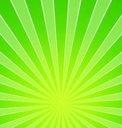 Green Light Beam Background vector image vector image