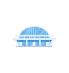 modern sports stadium isolated icon vector image