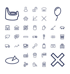 37 web icons vector