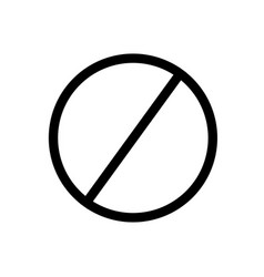 block icon vector image