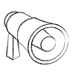 Bullhorn advertising symbol 3d vector