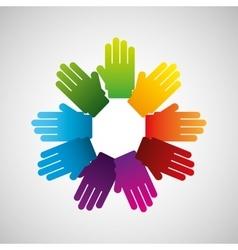 Business teamwork people vector