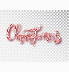 christmas candy design template vector image