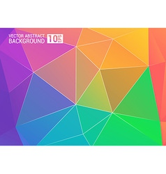 Colorful background color colorful rainbow vector image