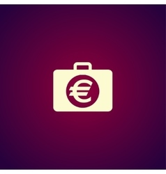 financial icon Flat design style vector image