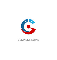 progress technology company logo vector image