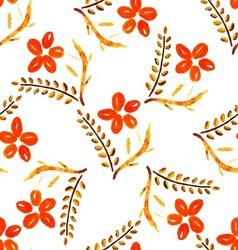 Seamless broun flower vector