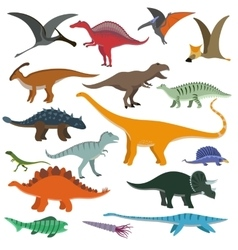 Cartoon Dinosaurs vector image