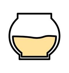 Honey pot isolated icon design vector