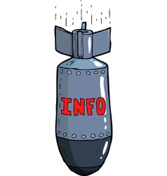 information bomb vector image vector image