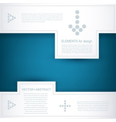 design element for business vector image vector image