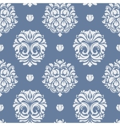 Victorian baroque background vector image vector image